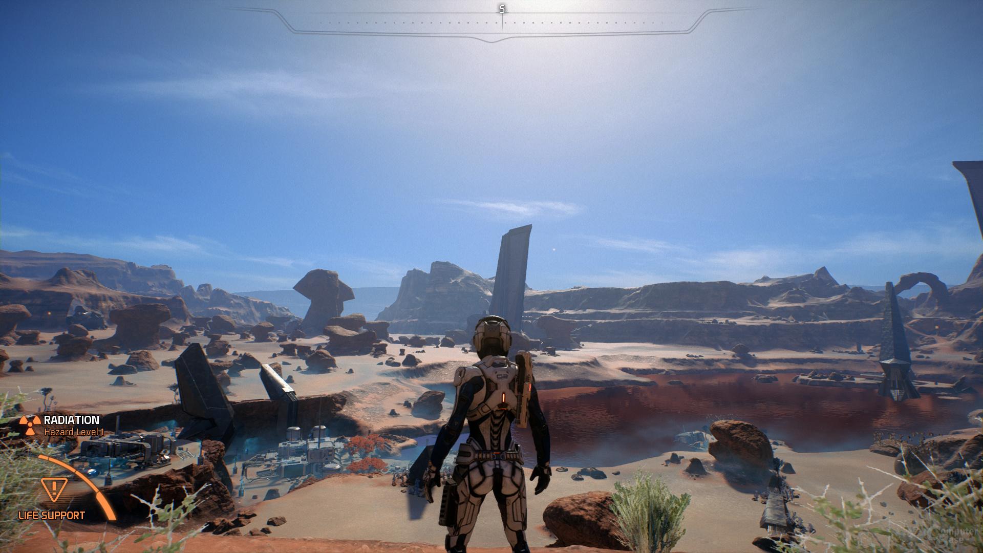 Mass Effect Andromeda – Tessellation-Faktor 16×