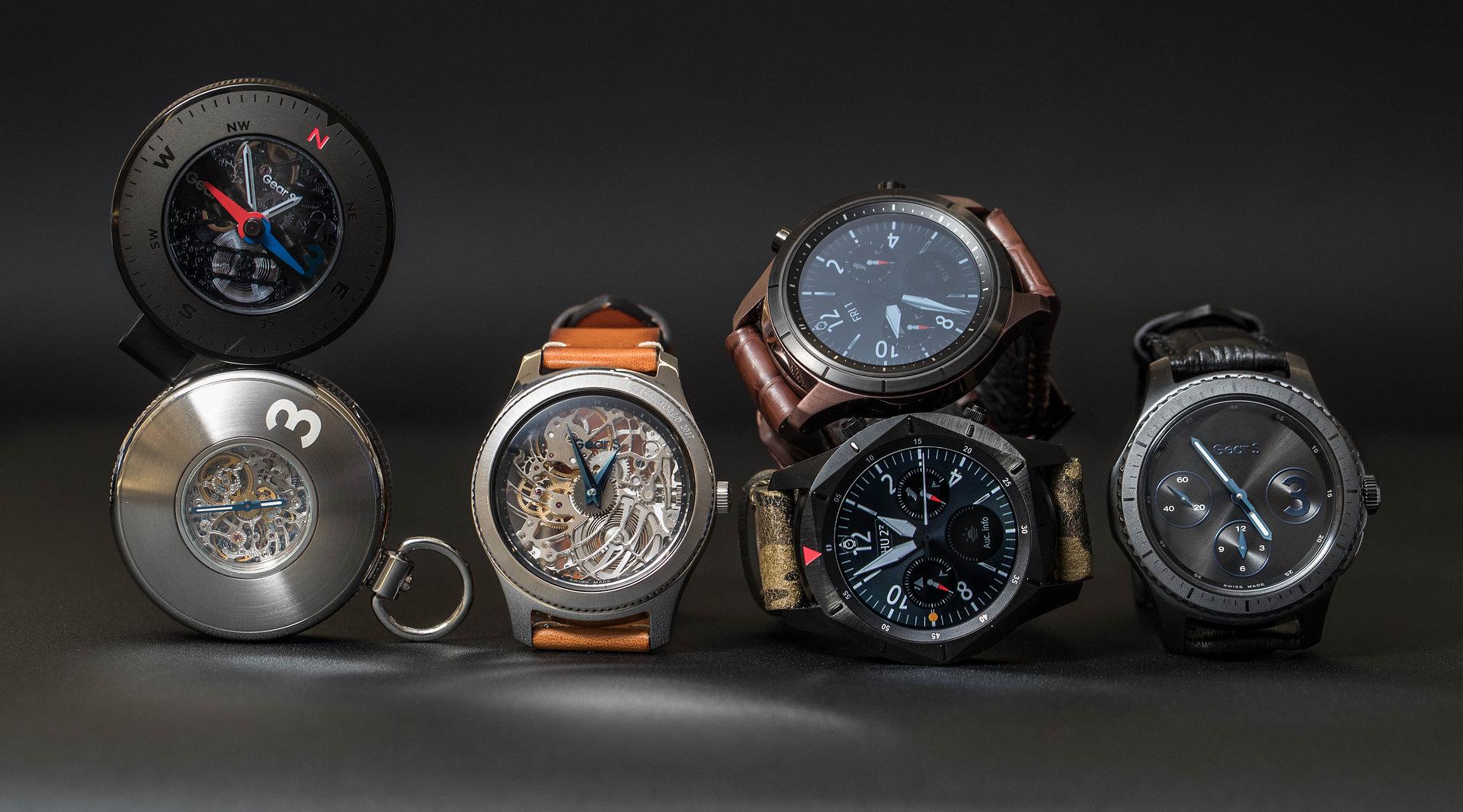 Samsung Übersicht der Uhrenkonzepte