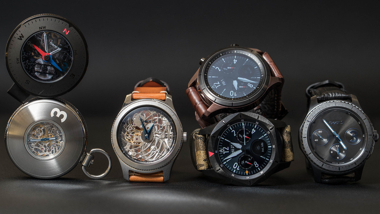Basel World: Samsung zeigt Luxusvariante der Smartwatch GearS3