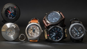 Basel World: Samsung zeigt Luxusvariante der Smartwatch Gear S3