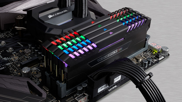 DDR4-RAM: RGB-Beleuchtung nun auch in Corsairs Vengeance-Serie