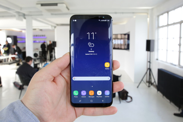 Galaxy S8 mit Infinity-Display