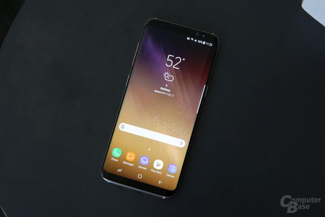 Das Galaxy S8 punktet vor allem mit Display und Design