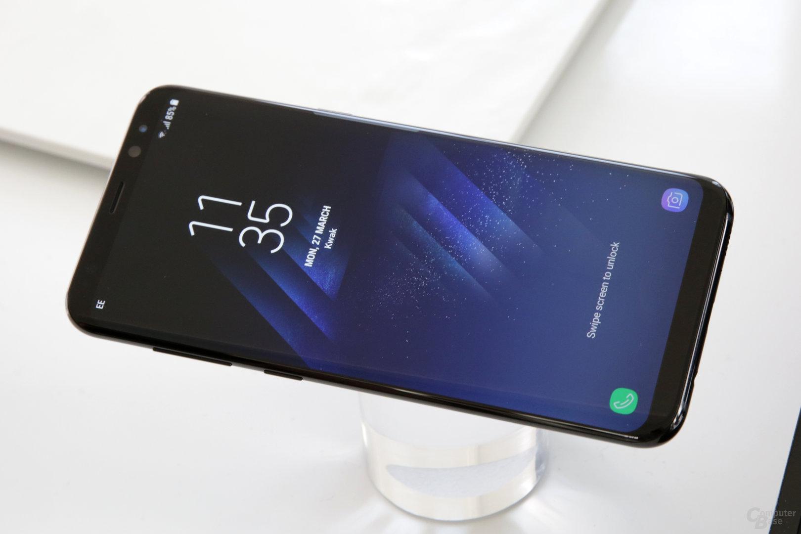 Das Display unterstützt Mobile HDR Premium