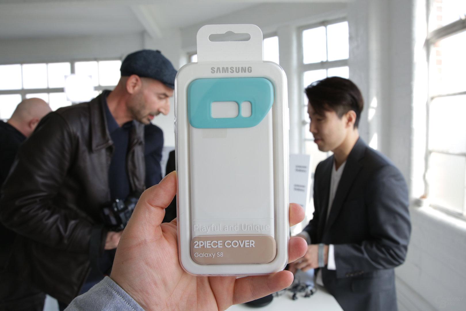 Zweigeteilte Hülle für das Galaxy S8/S8+