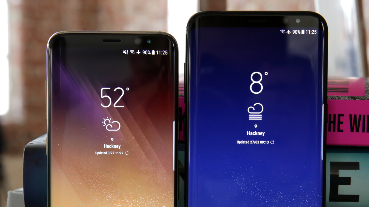 Galaxy S8 & S8+ ausprobiert: To infinity and beyond!