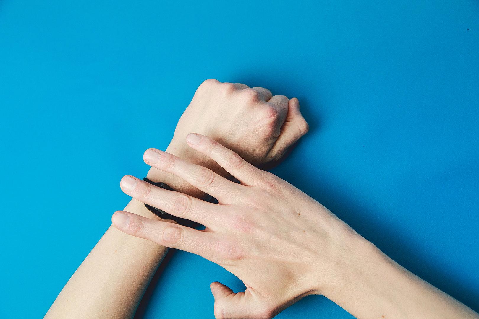 Tapdo: Fingerabdrucksensor fürs Handgelenk