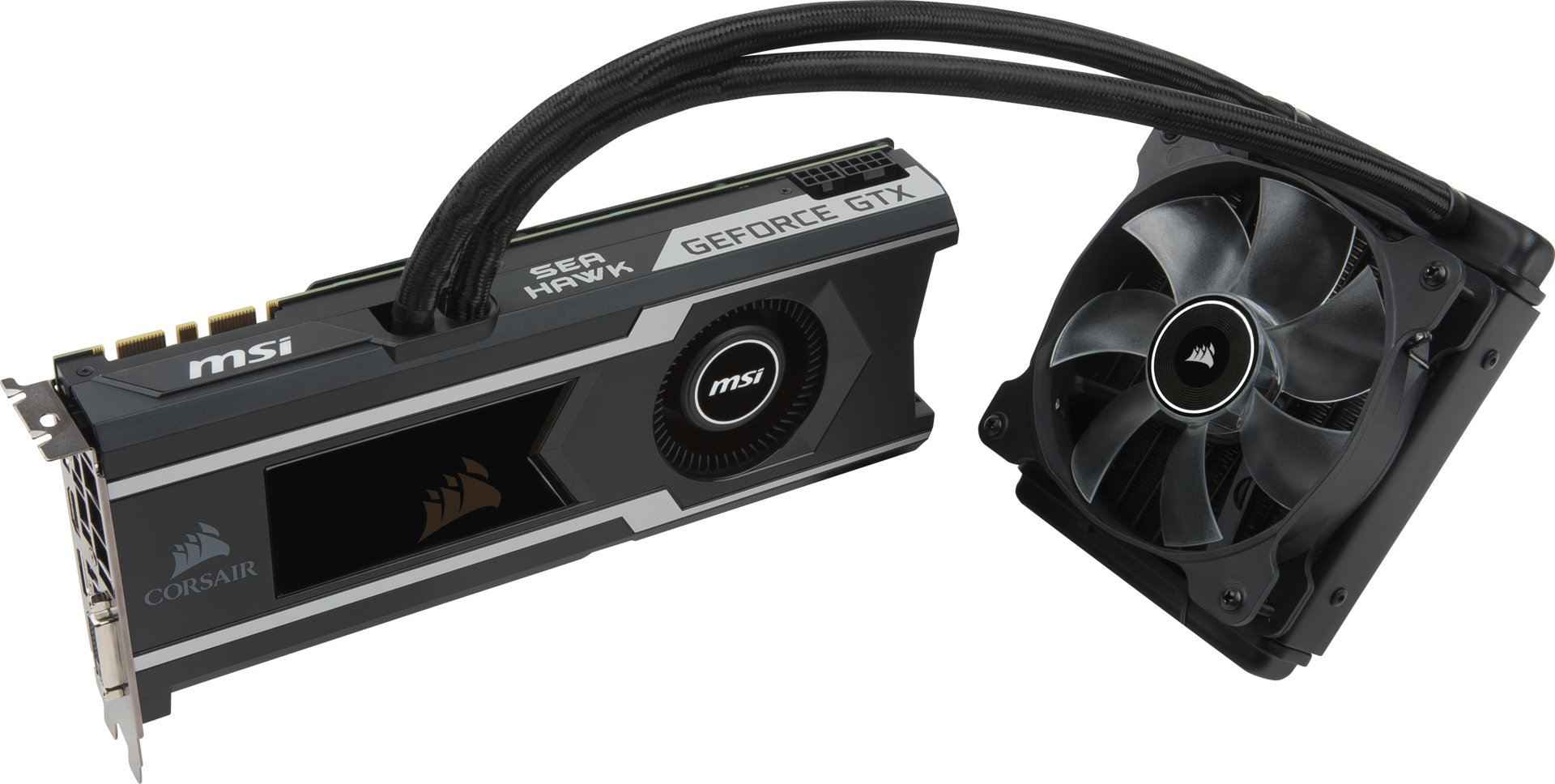 MSI GeForce GTX 1080 Ti Sea Hawk (X)