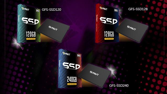 GFS (MLC) und UVS (TLC): Grafikkartenhersteller Palit nimmt SSDs ins Programm