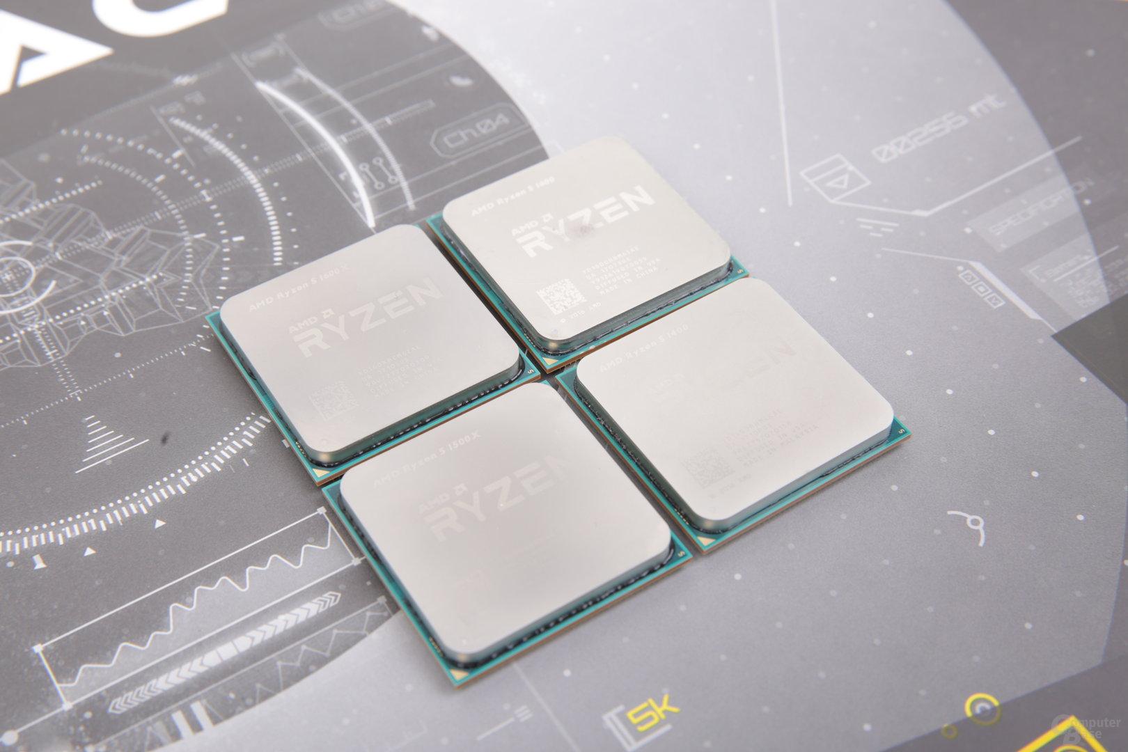 AMD Ryzen 5 gegen Intel Core i5 im Test