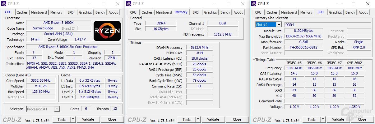 Overclocking von DDR4-Speicher mit Ryzen 5