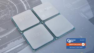 AMD Ryzen 5 1600X, 1600, 1500X & 1400 im Test: Könige der Mittelklasse