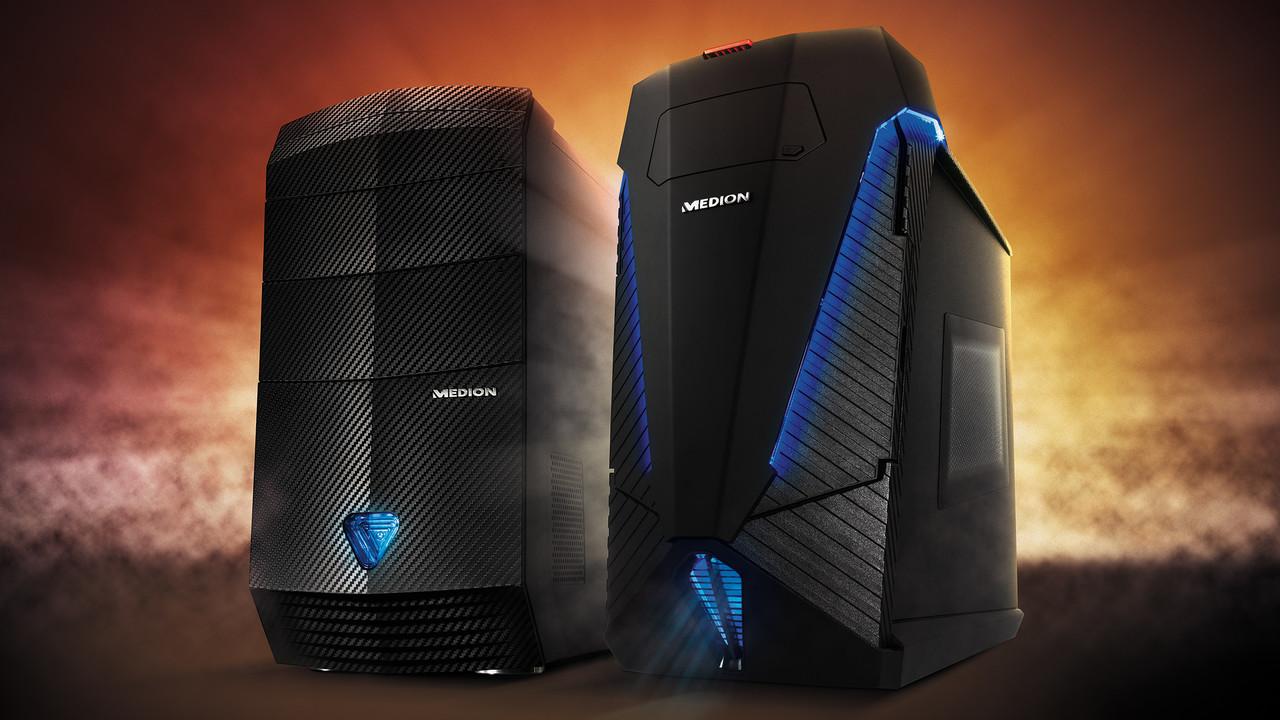 Komplett-PC: Medion bietet Gaming-PCs mit AMD Ryzen 7 an