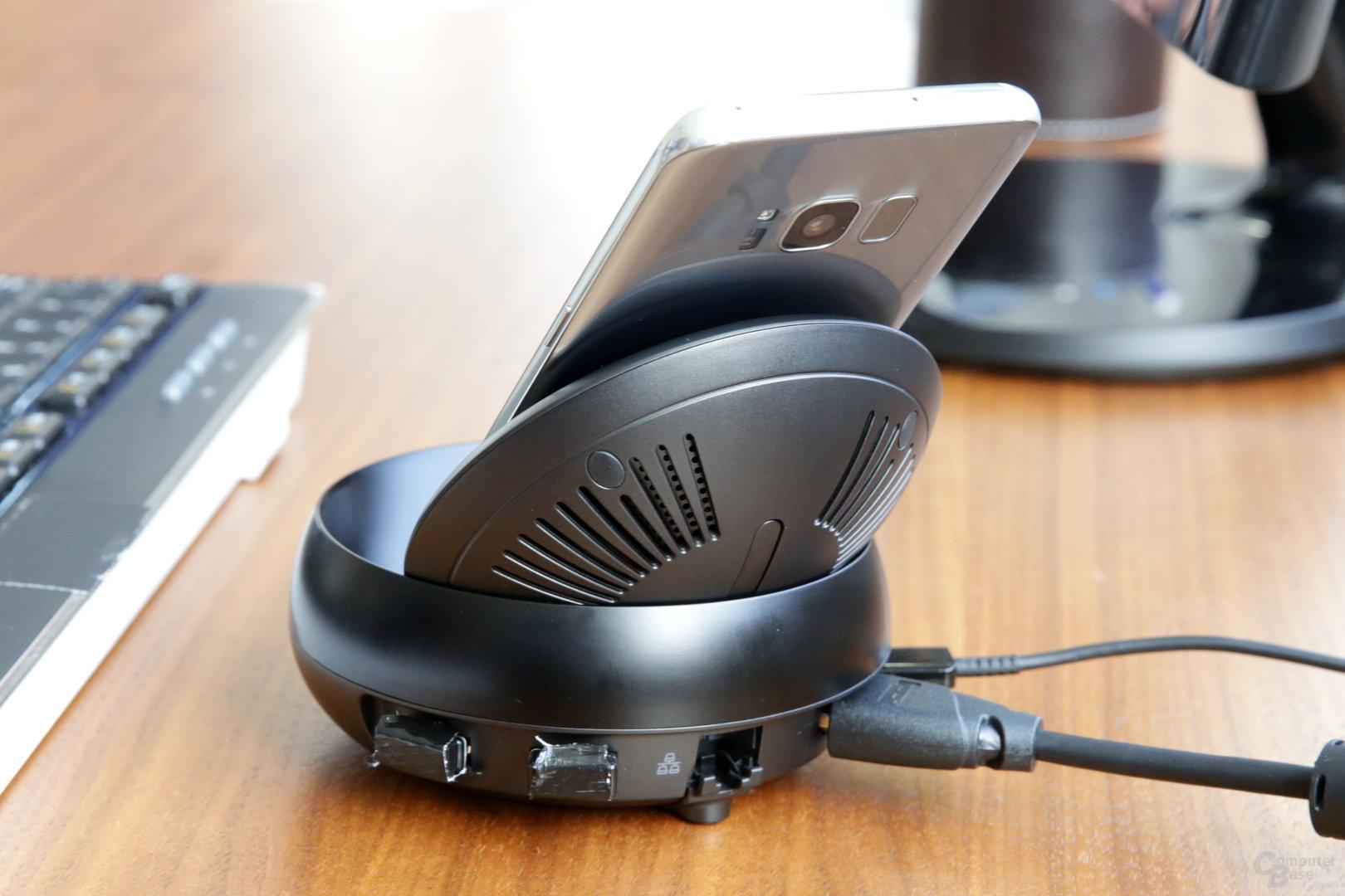 Anschlüsse für USB, HDMI und Ethernet