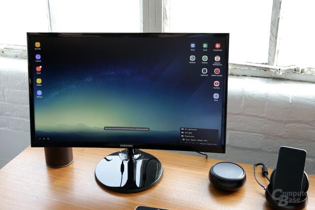 Android im Desktop-Modus
