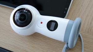 Samsung Gear 360 (2017): 360-Grad-Kamera unterstützt Livestreaming in 4K