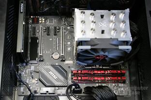Aqua Computer kryoM.2 micro im Testsystem