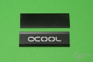 Alphacool HDX M.2: Ober- und Unterseite der SSD werden bedeckt