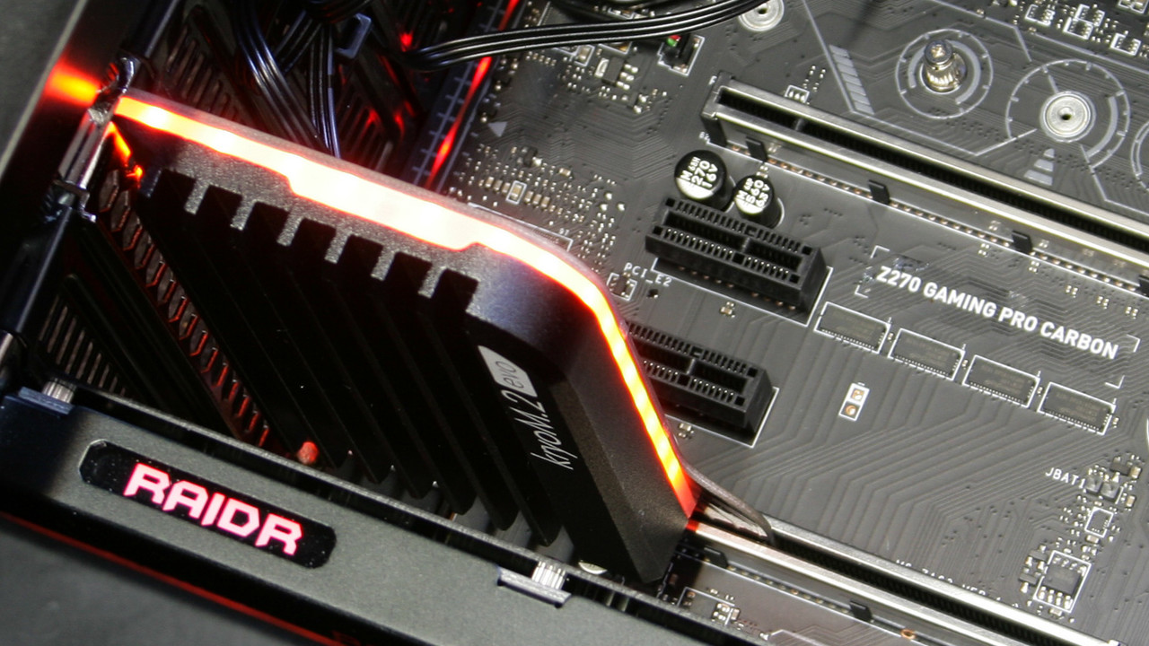 M.2-SSD-Kühler im Test: Alphacool, Aqua Computer und MSI im Vergleich