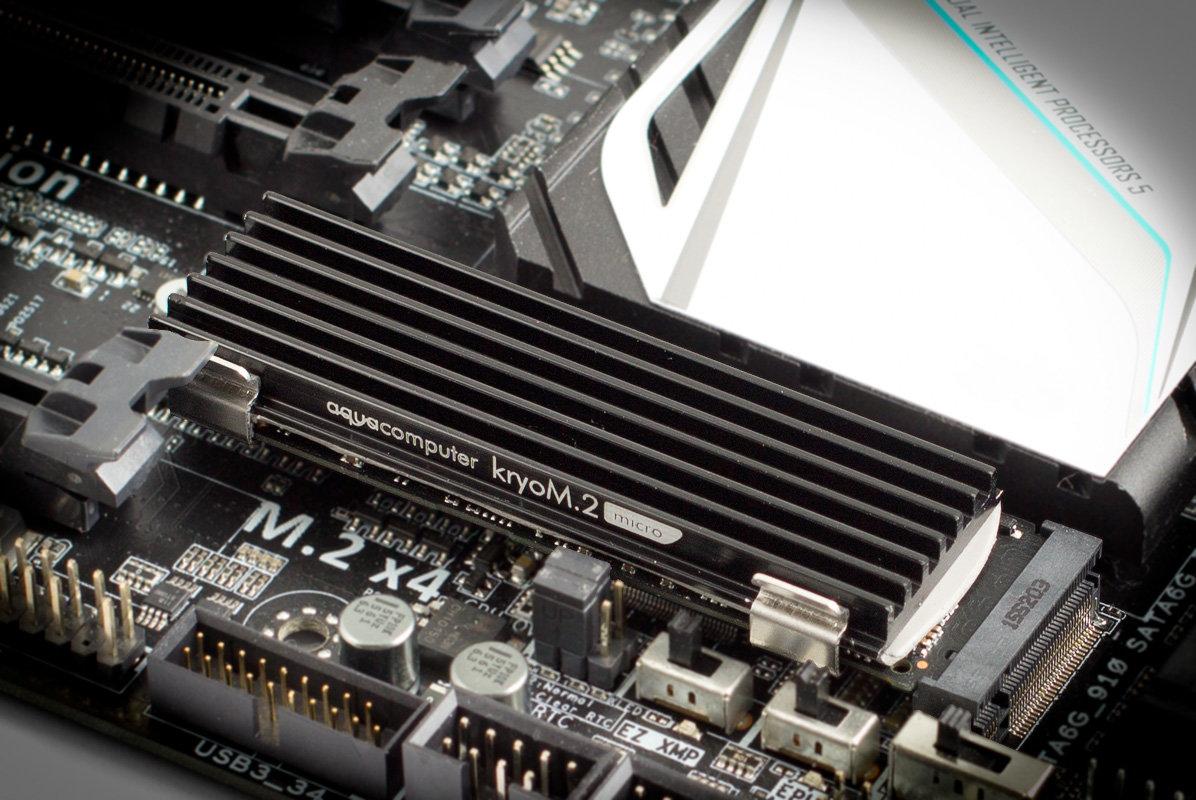 Aqua Computer kryoM.2 micro