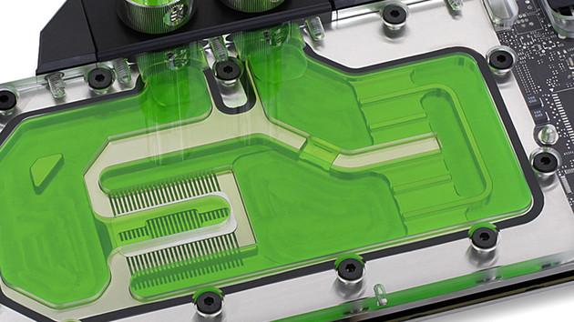 EK Water Blocks: Wasserkühler für Custom-Designs der GTX 1080 Ti