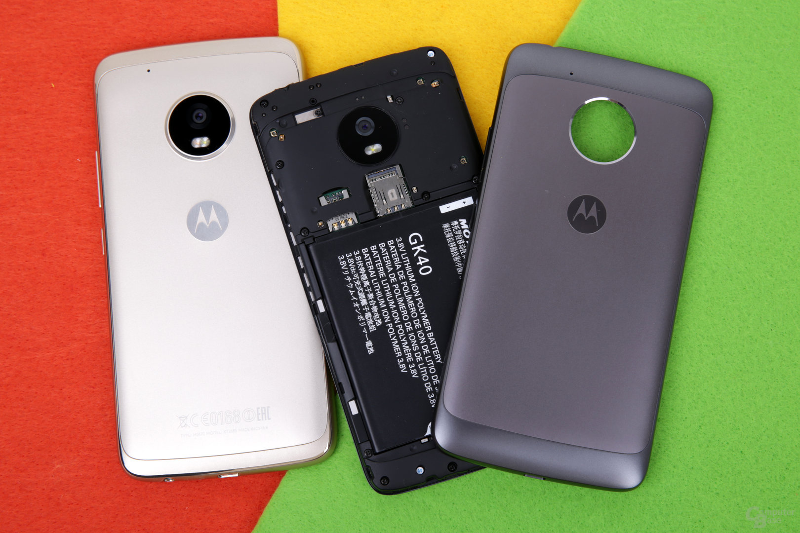 Moto G5 hat einen austauschbaren Akku