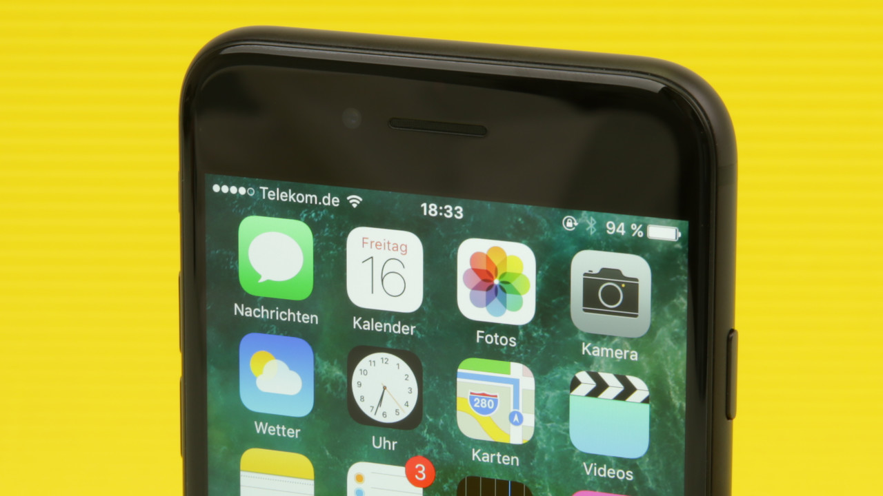Apple: iPhone soll True-Tone-Display erhalten