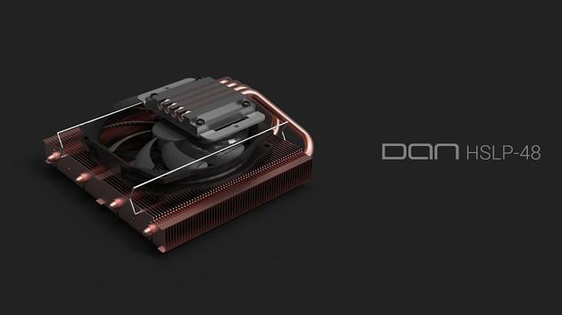 DAN HSLP-48: Vollkupfer-CPU-Kühler für Mini-ITX-PCs ist in Arbeit
