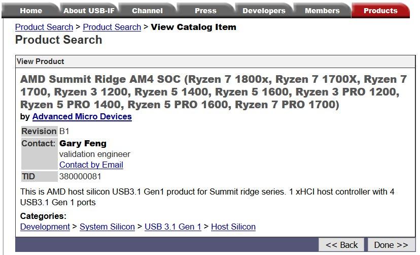 USB.org enthüllt die Existenz der Ryzen Pro