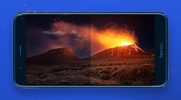 Honor 8 Pro: Display mit Farbraum nahe DCI-P3