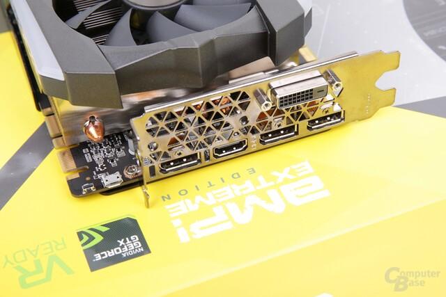 Standardanschlüsse und stillgelegter Micro-USB-Port