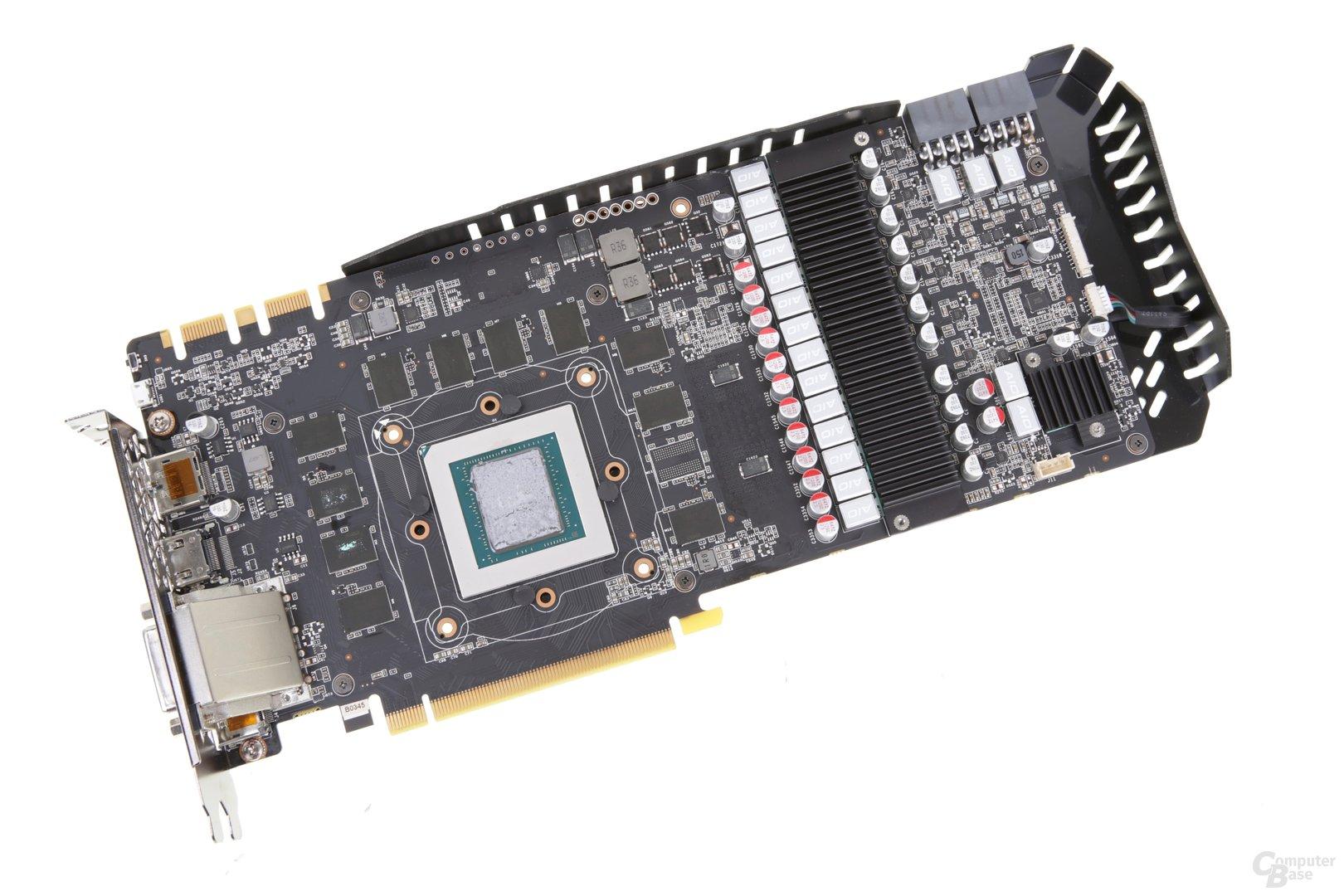 Das PCB der AMP! Extreme