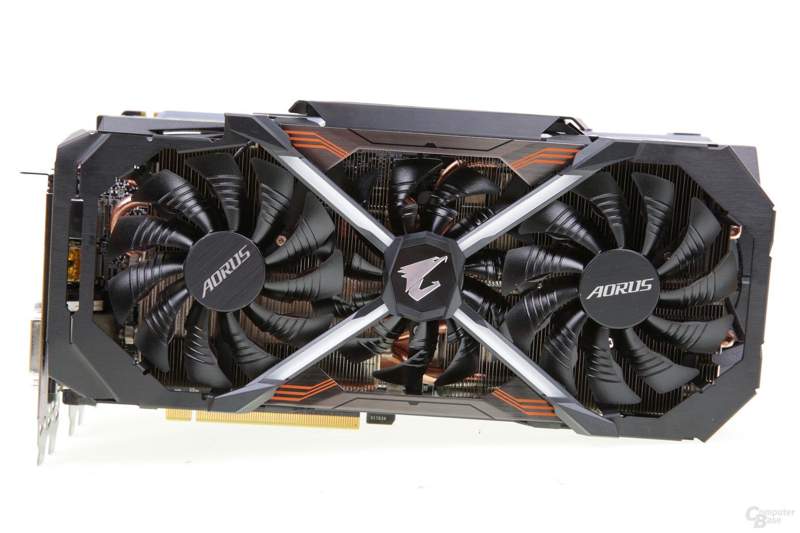 Die Aorus GeForce GTX 1080 Ti von Gigabyte im Test