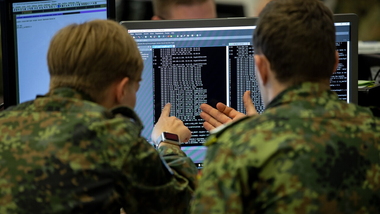 Bundeswehr: Offizieller Startschuss für die Cyber-Krieger