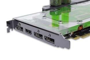 GTX 1080 Ti: Mit Wasserkühler nur einen Slot breit