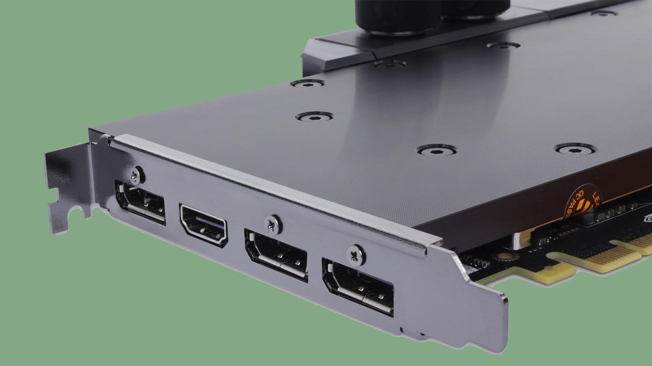 GeForce GTX 1080 Ti: Mit Wasserkühler zur Single-Slot-Grafikkarte