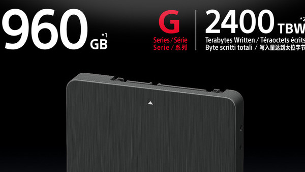 Sony G Series: Ausdauernde SSDs für Profi-Videorekorder