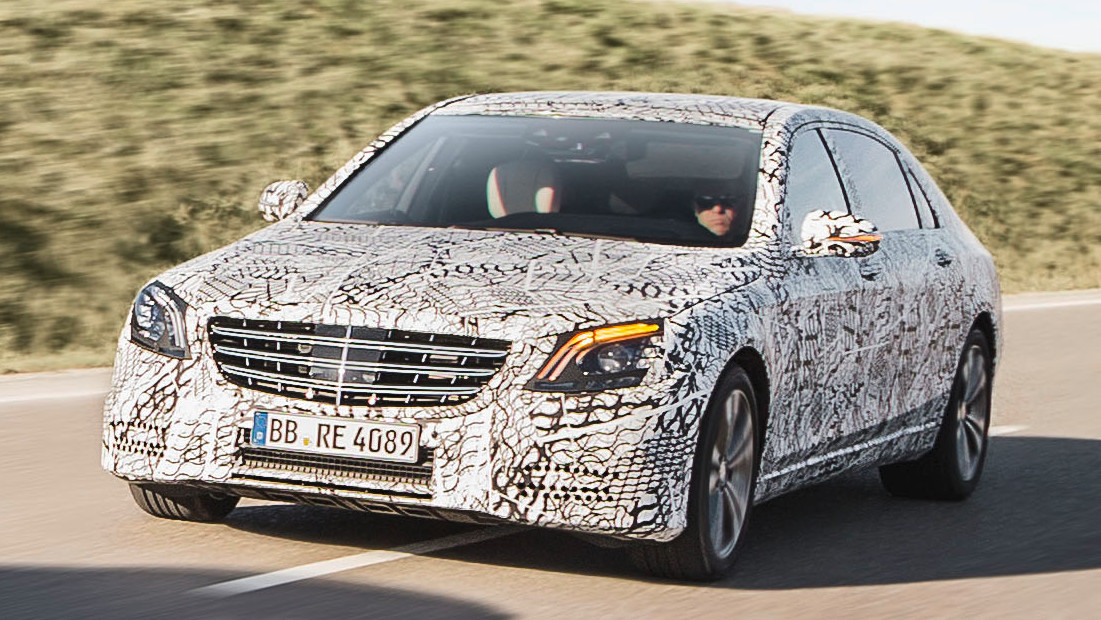 Mercedes-Benz: Nächste S-Klasse kommt automatisiertem Fahren näher