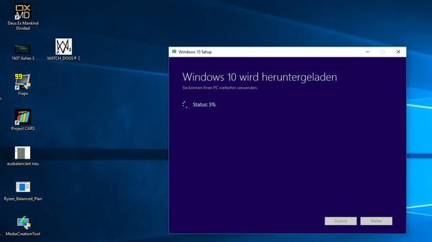 Ryzen-Benchmarks: Windows 10 Creators Update in manchen Spielen schneller