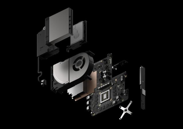 Ein Blick auf den Aufbau der Xbox Scorpio