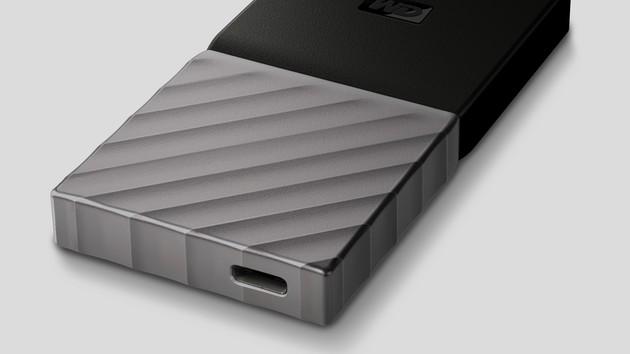 WD My Passport SSD: Externe Datenträger erstmals mit NAND-Flash