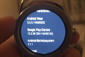 Android Wear 2.0 auf der LG Watch Urbane