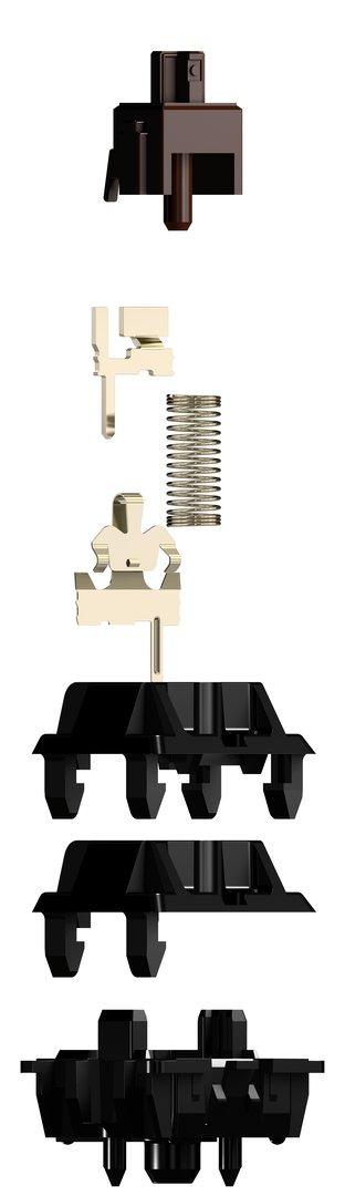 Der Aufbau eines MX-Tasters im Detail