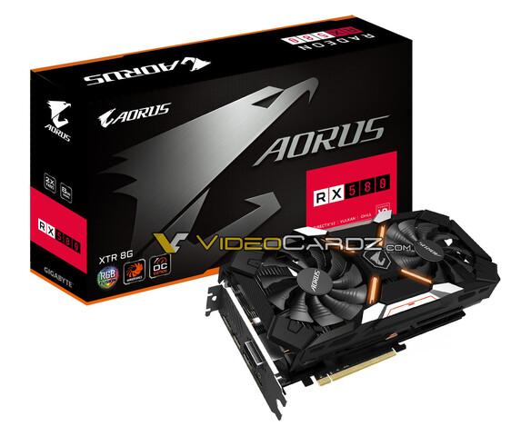 Gigabyte RX 580 Aorus XTR 8G