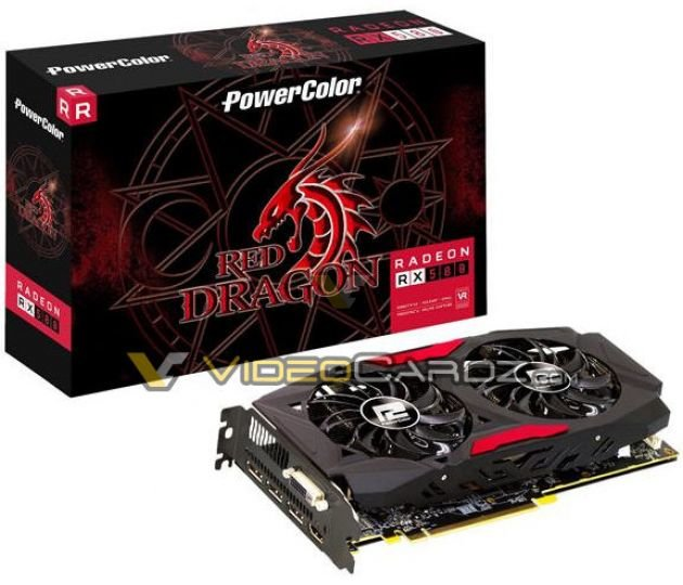 PowerColor Red Dragon RX 580