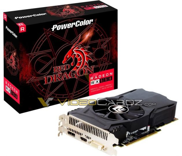 PowerColor Red Dragon RX 550