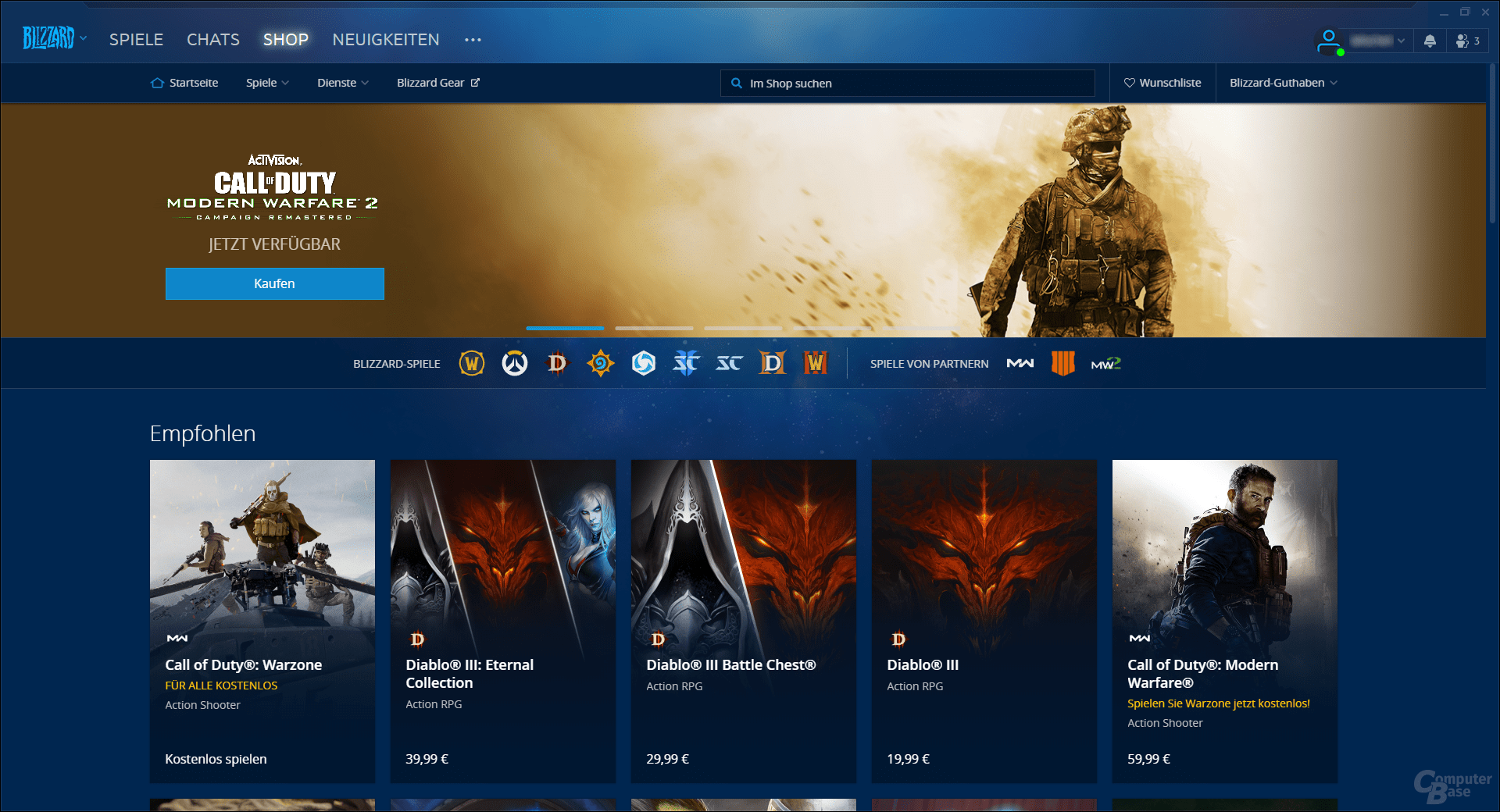 Battle.net – Shop
