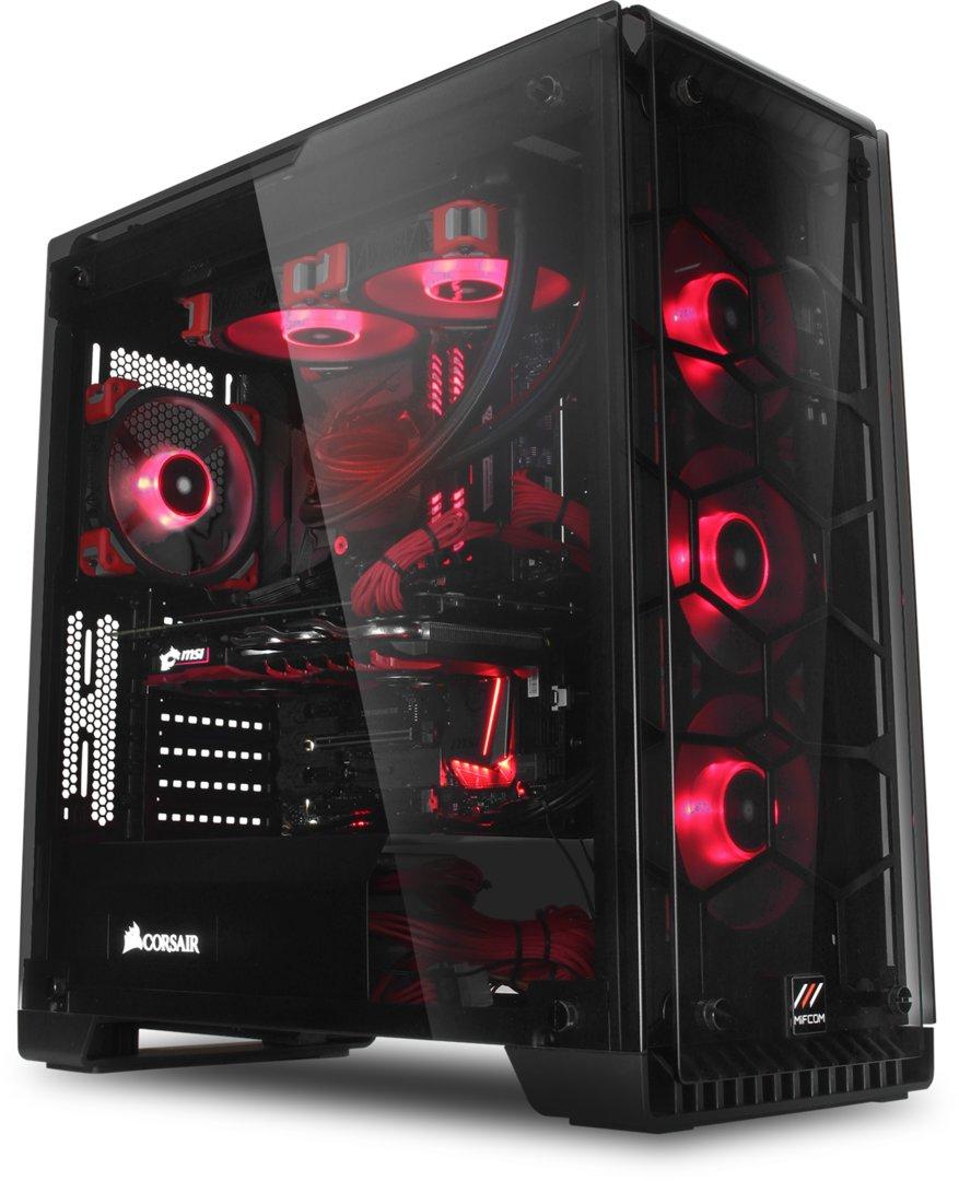 Gaming-PC von MIFCOM, Corsair und MSI zum 18.