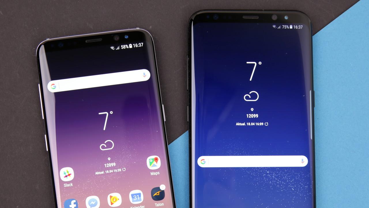 Samsung Galaxy S8/S8+ im Test: Auch Kleine können großartig sein!