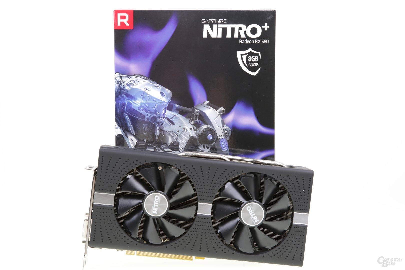 Sapphire Radeon RX 580 Nitro+ OC